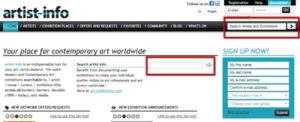 artist-info home